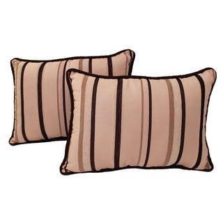 Sherry Kline Melody Stripe Boudoir Pillows (Set of 2)