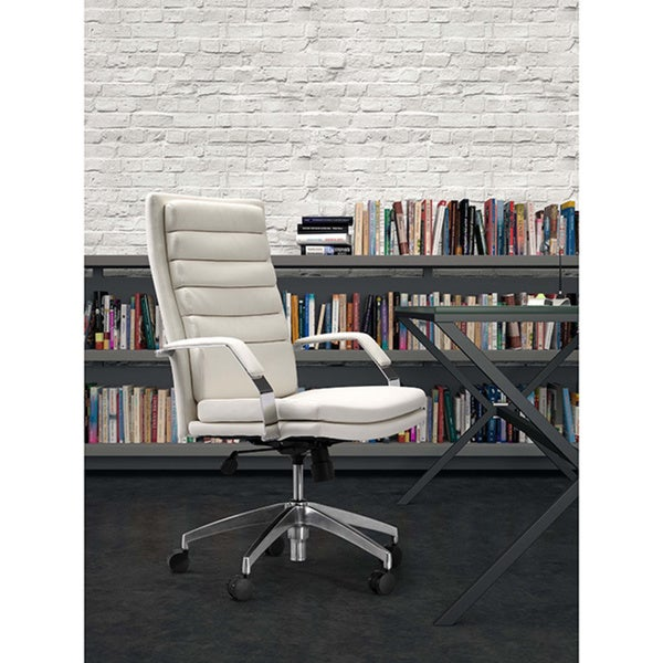Director Comfort White Office Chair Overstock Shopping Great Deals On Office Chairs