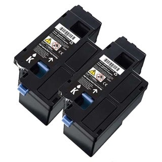 Dell C1660 (332-0399, 4G9HP) Black Compatible Toner Cartridge (Pack of 2)