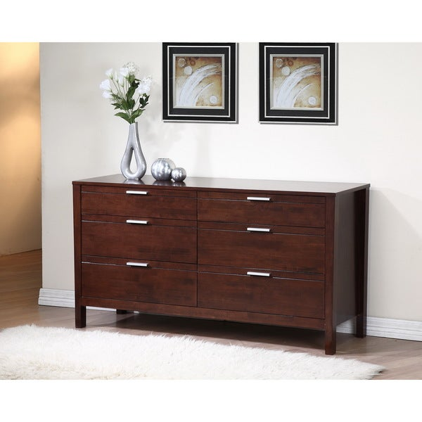 Malaga 6 Drawer Dresser Overstock Shopping Great Deals On Dressers