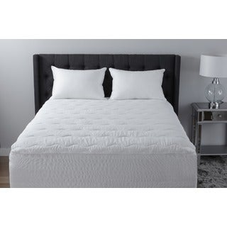 Beautyrest 300 Thread Count Pima Cotton with Stain Release Mattress Pad