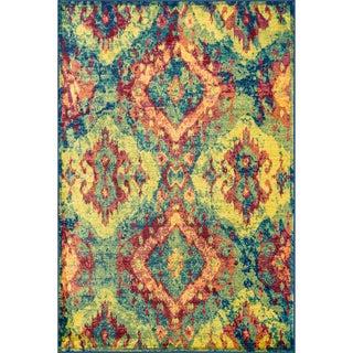 Skye Monet Blue/ Multi Rug (7'7 x 10'5)