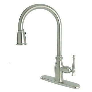 Fontaine Giordana Stainless Steel Single-handle Pull Down Kitchen Faucet