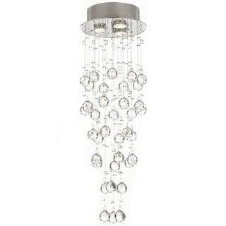 Gallery Crystal Raindrop 3-light Chandelier