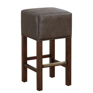 Isis Bar Height Stool in Brown