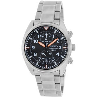 Seiko Men's SNN235 Stainless Steel Quartz Watch