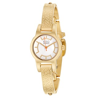 ESQ by Movado Women's 07101413 'Nova' Gold Plated Stainless Steel Swiss Quartz Watch