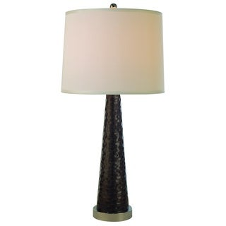 Tinseltown Sparkling Charcoal Table Lamp