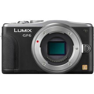 Panasonic Lumix DMC-GF6 Mirrorless Micro Four Thirds Camera Body