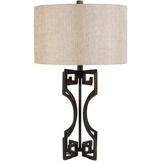 Glamorous Greek Key Lamp
