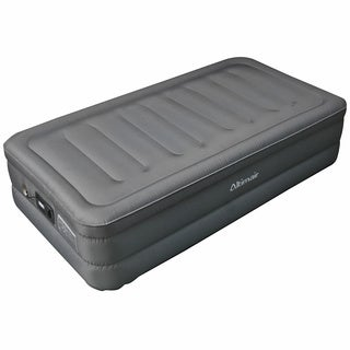 Altimair Twin-size Raised Air Bed Laminated Nylon Polyester Fabric Air Mattress