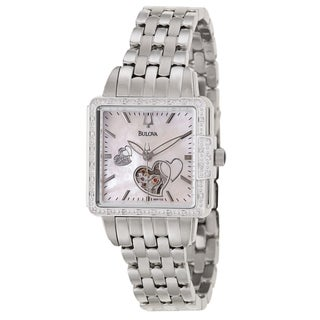 Bulova Women's 96R155 'BVA Series' Stainless Steel Military Time Watch