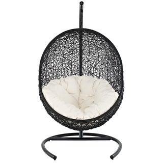 Encase Suspension Series Rattan Outdoor Wicker Patio Swing Chair