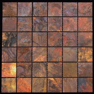 Square Copper 11.75x11.75-inch Wall Tile