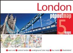 Popout Map London (Sheet map, folded)
