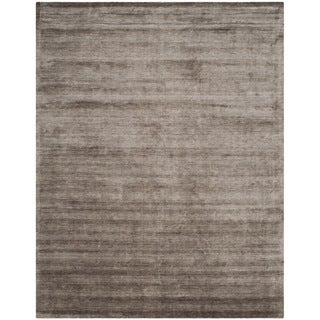 Safavieh Hand-loomed Mirage Brown/ Charcoal Viscose Rug (9' x 12')