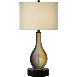 twilight 1 light plum and gold frosted table lamp see price in cart 5. Black Bedroom Furniture Sets. Home Design Ideas
