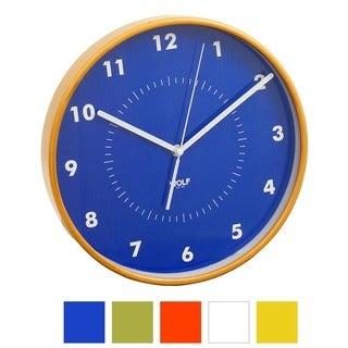 WOLF Moderne 12-inch Wall Clock