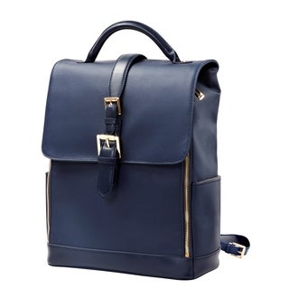 Isaac Mizrahi Kathryn Full Size Coated Canvas Camera and Tech Backpack