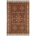 Hand Woven Bradford Jute and Wool Flat Weave Rug (9' x 12')