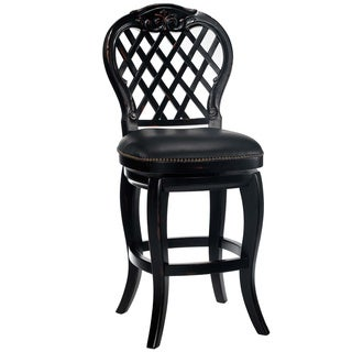 Braxton Black Honey Bar Stool