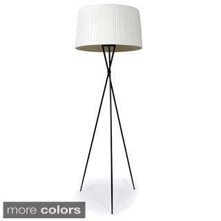 Sticks 1-light Black Metal Floor Lamp