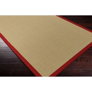 Hand-woven Contra Casual Bordered Area Rug (9' x 12')