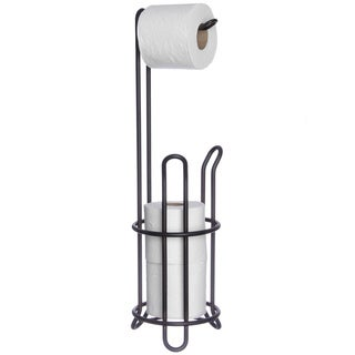 Oil-rubbed Bronze Combo Toilet Tissue Holder