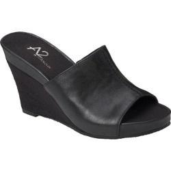 Women's A2 by Aerosoles Heart Plush Black Faux Leather