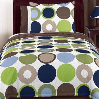 Sweet Jojo Designs Boys 'Dot Modern' 4-piece Twin Comforter Set