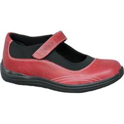 Women's Drew Rose Red Full Grain Leather