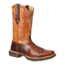 Men's Durango Boot DWDB034 12in Ramped-Up Rebel Distressed Brown/Tan Full Grain Leather