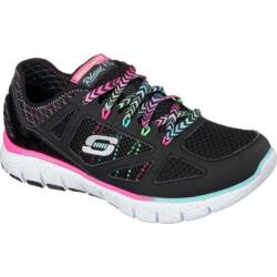 Women's Skechers Relaxed Fit Skech-Flex Fashion Play Black/Multi