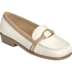 Women's Aerosoles Dubious White Faux Leather