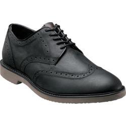 Men's Nunn Bush DePere Black Smooth Leather