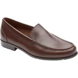 Men's Rockport Classic Venetian Loafer Coach Brown Leather