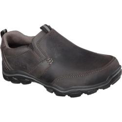 Men's Skechers Relaxed Fit Montz Devent Charcoal