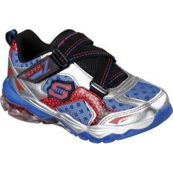 Boys' Skechers Vexton Silver/Royal/Red