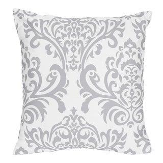 Sweet Jojo Designs Avery Damask Print Decorative Throw Pillow