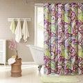 Intelligent Design Kayla Purple Paisley Shower Curtain