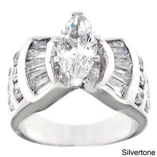 Simon Frank 'The Grand Marquise' CZ Bridal Wedding Ring