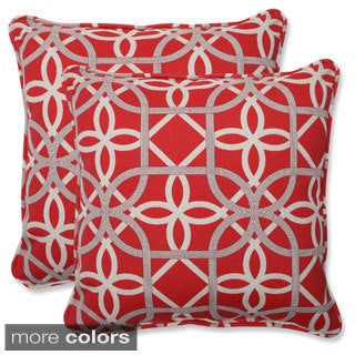 Pillow Perfect Keene 18.5-inch Outdoor Throw Pillows (Set of 2)