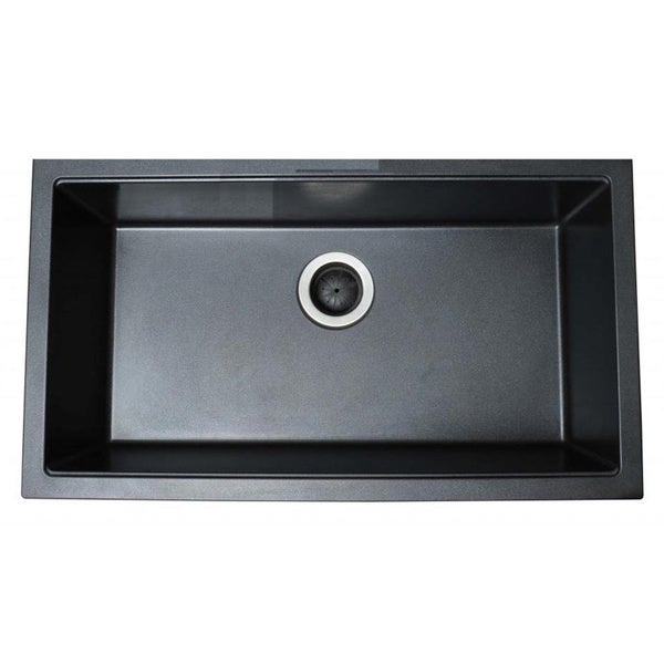 Ukinox Single Basin Granite Composite Undermount Kitchen