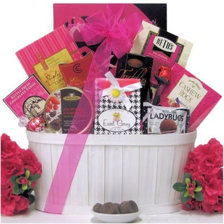 Sweet & Trendy Valentine's Day Chocolate/ Sweets Gift Basket