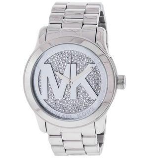 Michael Kors Women's MK5544 Runway Silver Dial Watch