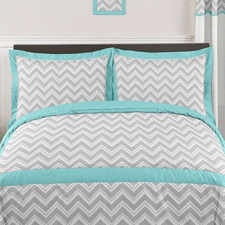 Sweet Jojo Designs Chevron Zigzag 3-piece Comforter Set
