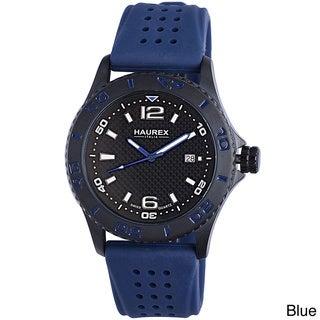 Haurex Italy Men's Factor Unidirectional Bezel Date Watch
