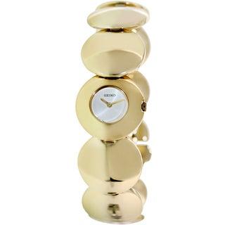 Seiko Women's Gold-Tone Stainless Steel Quartz Watch
