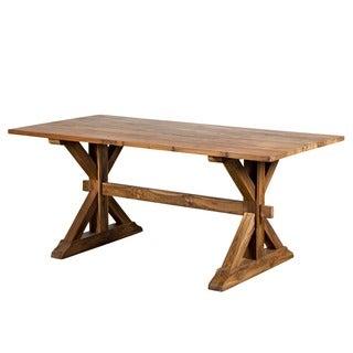 Dodson Handmade Teak Dining Table (India)