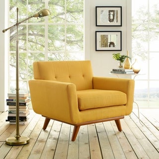 Engage Wooden Leg Armchair
